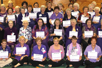 GFWC members support VAWA